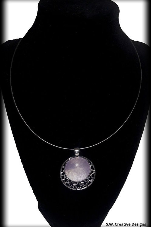 Moon Clouds Pendant & Necklace