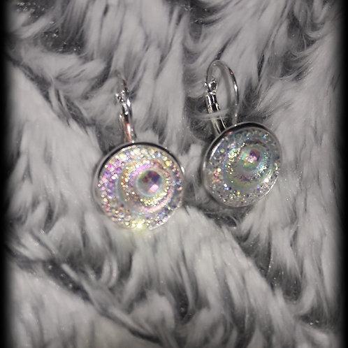Unicorn Moonlight French Drop Earrings