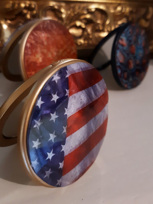 The American Flag Compact Mirror