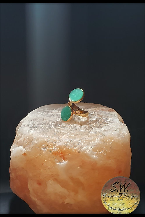 Brilliant Green Ring