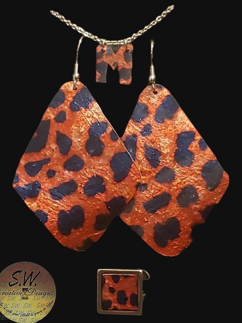 Spots on Fire Jewelry Set