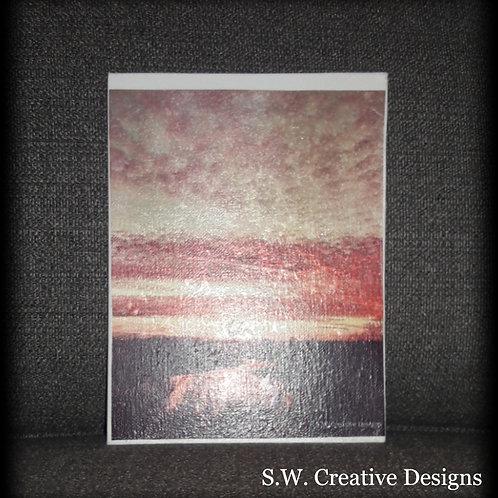 S.W. Believe Reflection Art