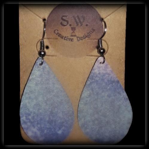 S.W. Shimmer of Color Tear Drop Earrings