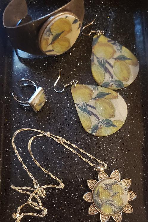 Lemonade Jewelry Set