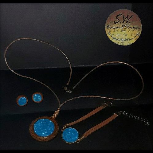 I love you Blue Jewelry Set 💙