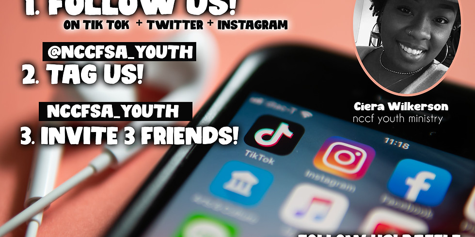 NCCF YOUTH FOLLOW US! CHALLENGE