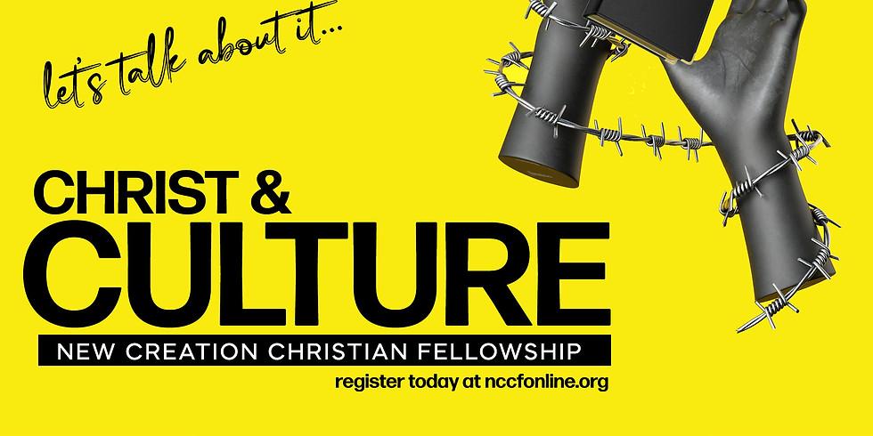 CHRIST & CULTURE (NEW Sunday school CLASS)