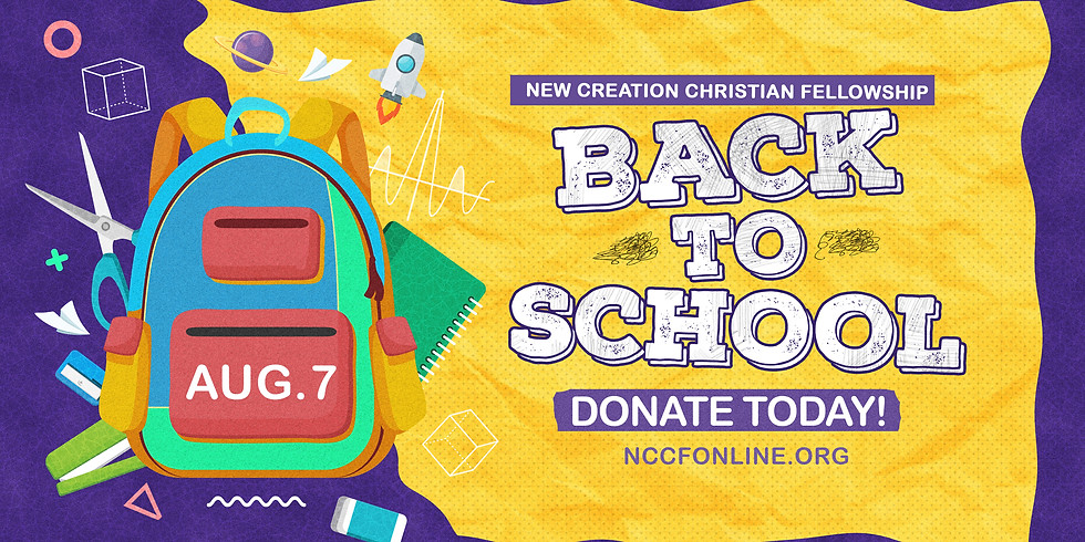 BACK 2 SCHOOL VOLUNTEER ORIENTATION
