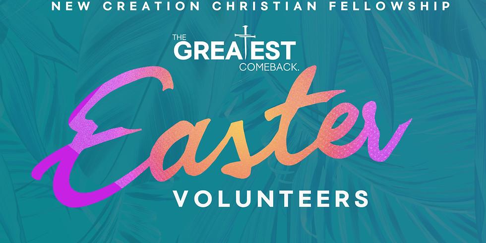 Easter Volunteer Training (Saturday)