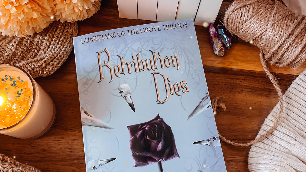 Retribution Dies paperback. Signed and with free bookmark.