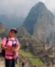 Matilde in Machu Picchu
