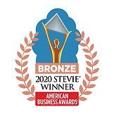 Bronze Stevie Award logo for 2020 American Business Awards