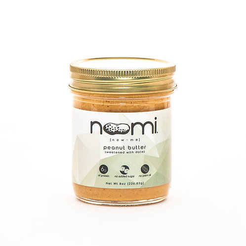 Noomi Peanut Butter, 8oz - Front view