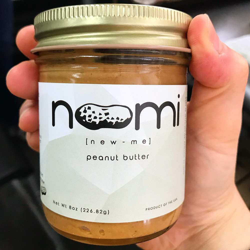 Noomi peanut butter, 8oz jar