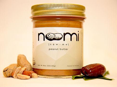 Noomi organic peanut butter, 8oz