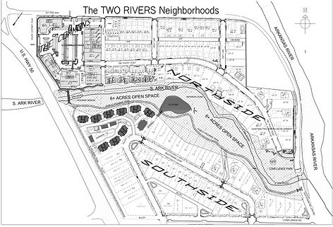 Two Rivers Neighborhoods Map