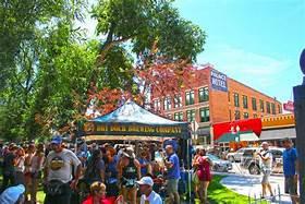 Festivals in Salida, Colorado.