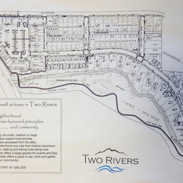 Two Rivers North map