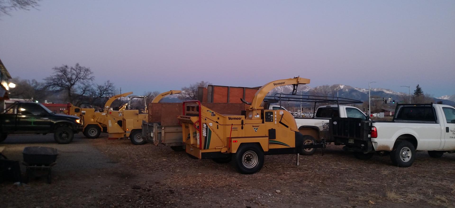 Trucks and Equipment