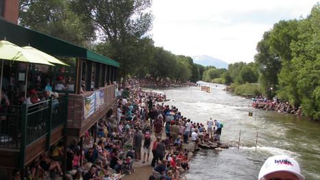 FIBArk Boat Races in Salida, Colorado
