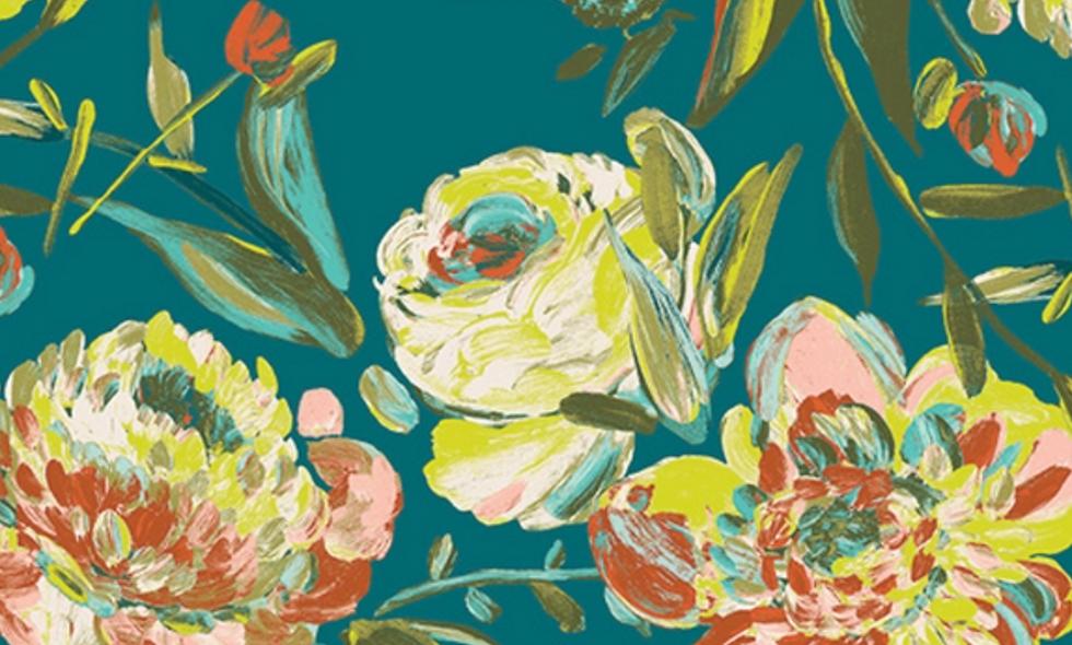 Coton à fleurs