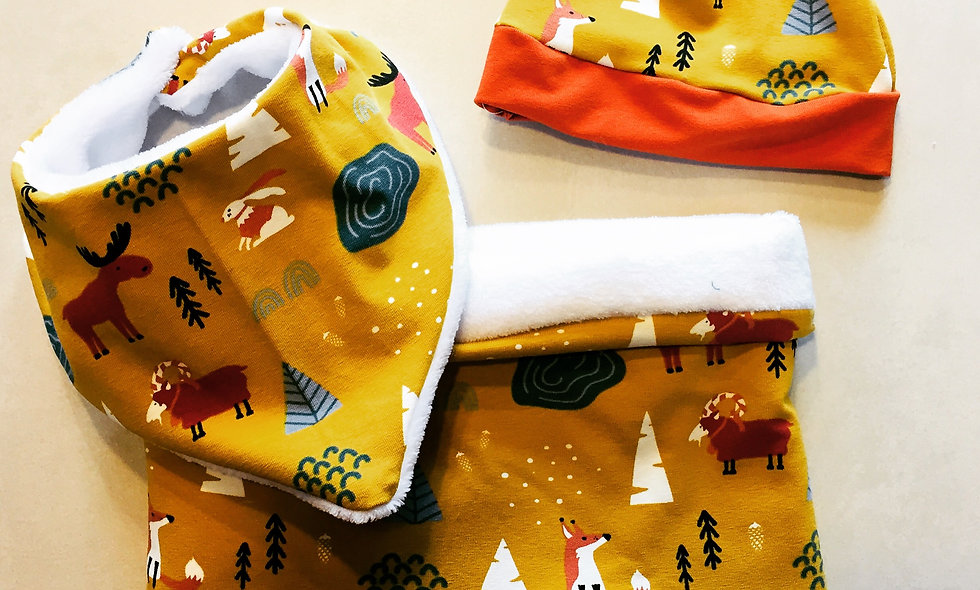 Snood - foulard hiver