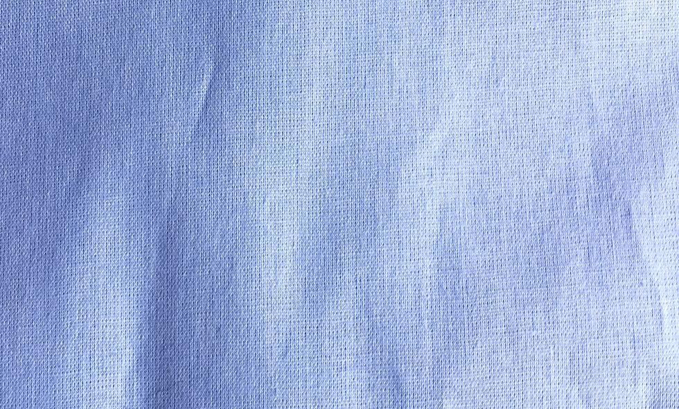 Coton Bio bleu ciel