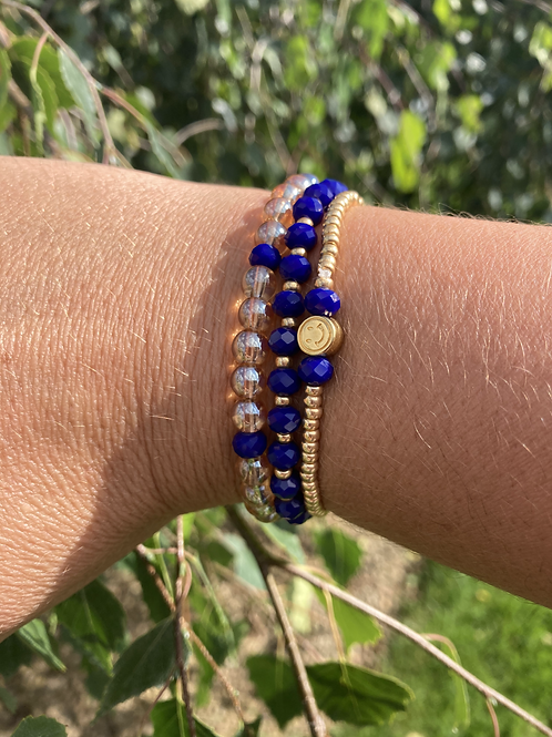 Bracelets bleus