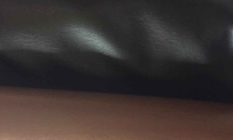 Simili cuir noir ou brun