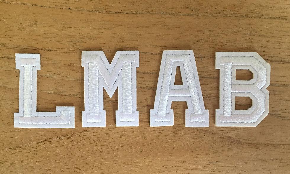 Lettres à coller