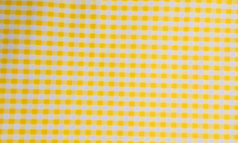 Carreaux Vichy jaune 4mm