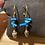 Thumbnail: Bracelet coquillages bleus