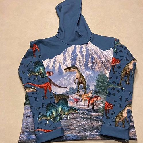 Panneau dinosaure