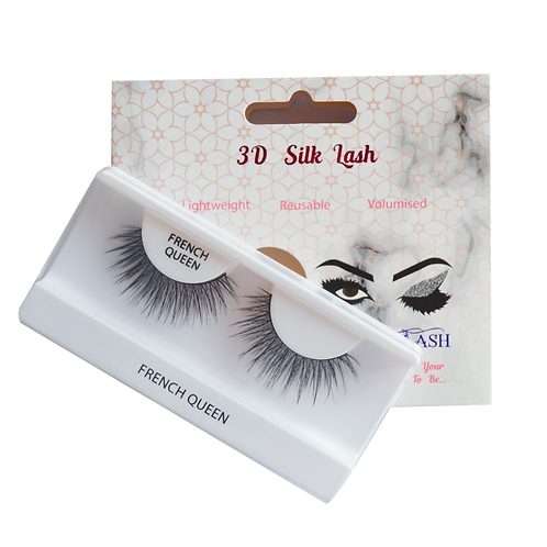 3D Silk Lashes - French Queen