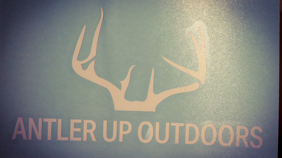Antler Up Outdoors Decal