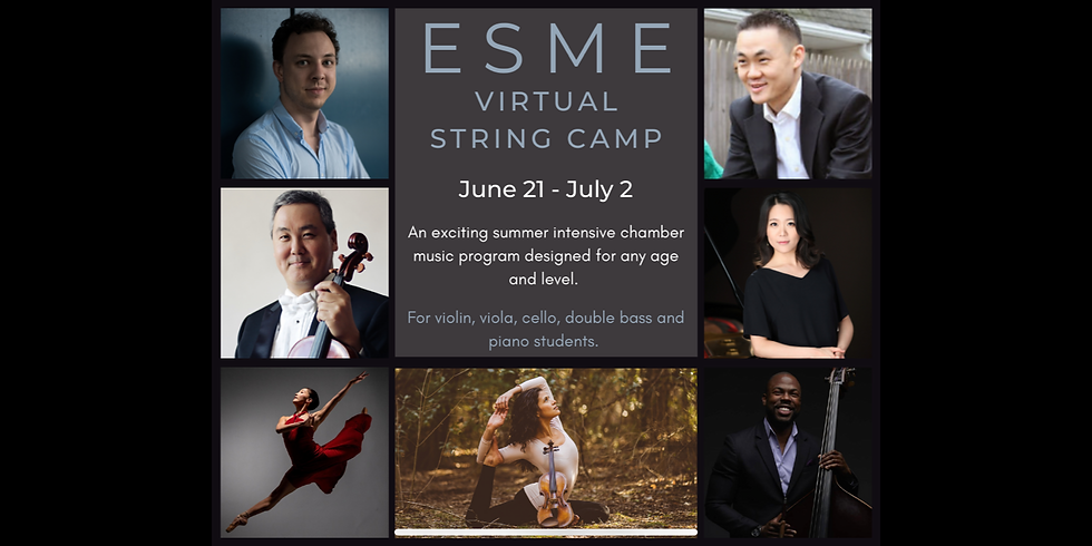 ESME Virtual String Camp 2021
