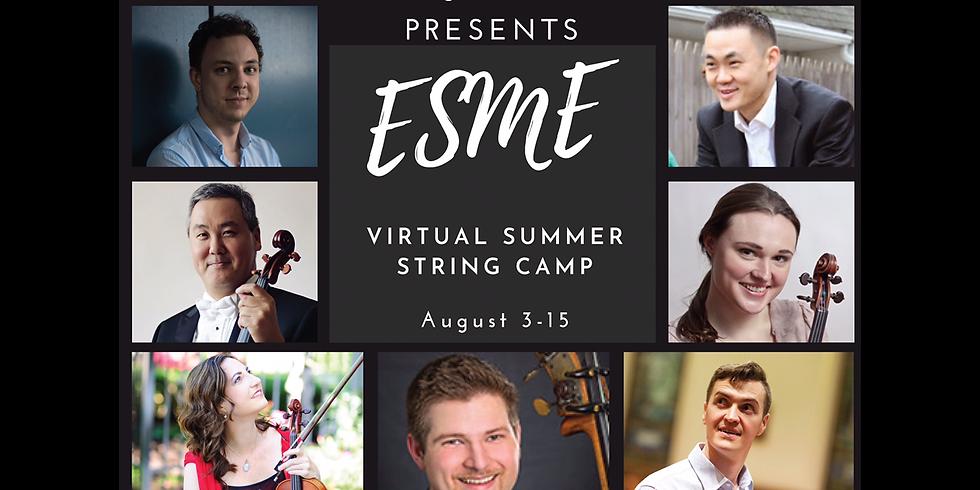 ESME Virtual String Camp (2020)