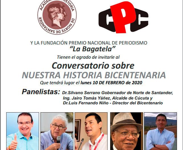 Conversatorio sobre nuestra Historia Bicentenaria