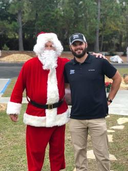 Santa & Brent