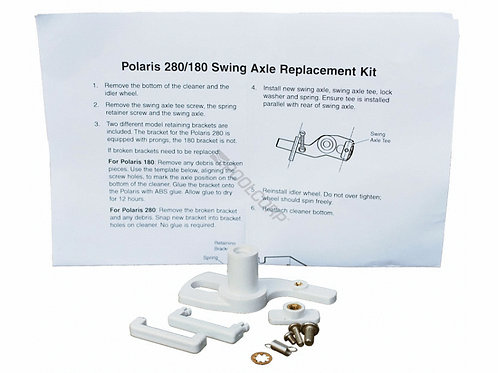 Polaris - 280/180 WHITE SWING AXLE KIT