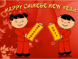 It's Chinese New Year - Gung Hey Fat Choy!