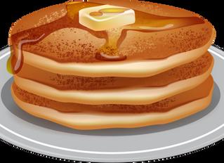 Where did the pancake go?