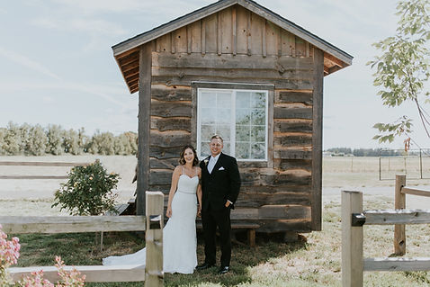 Oregon outdoor wedding