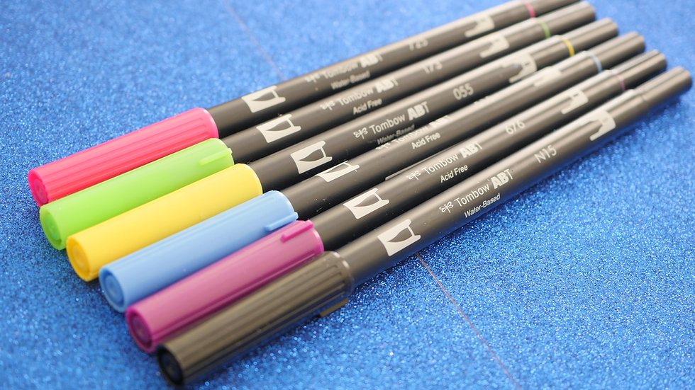 ***EXCLUSIVE**** Tombow Brush Pen Loud Set