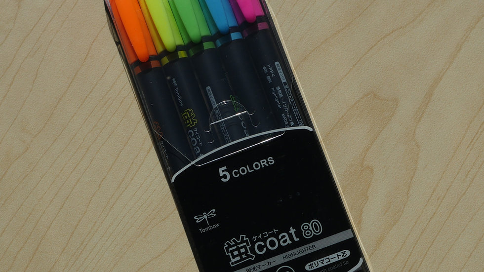 Tombow Top Coat Neon Highlighter Pack