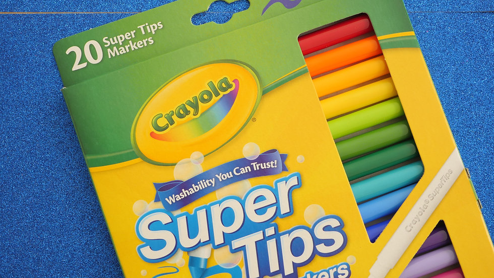 Crayola Supertips Washable Markers (20 ct)