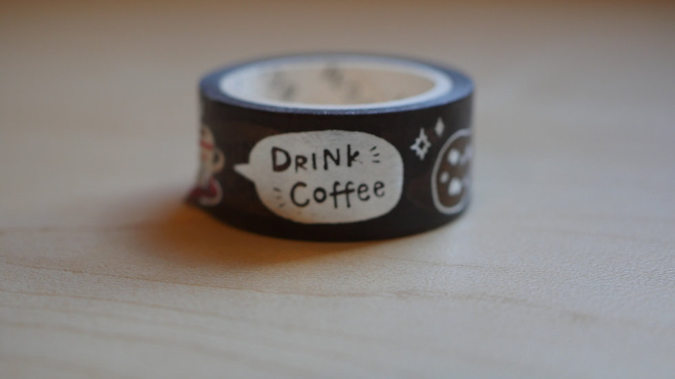 Coffee Shop Washi Tape