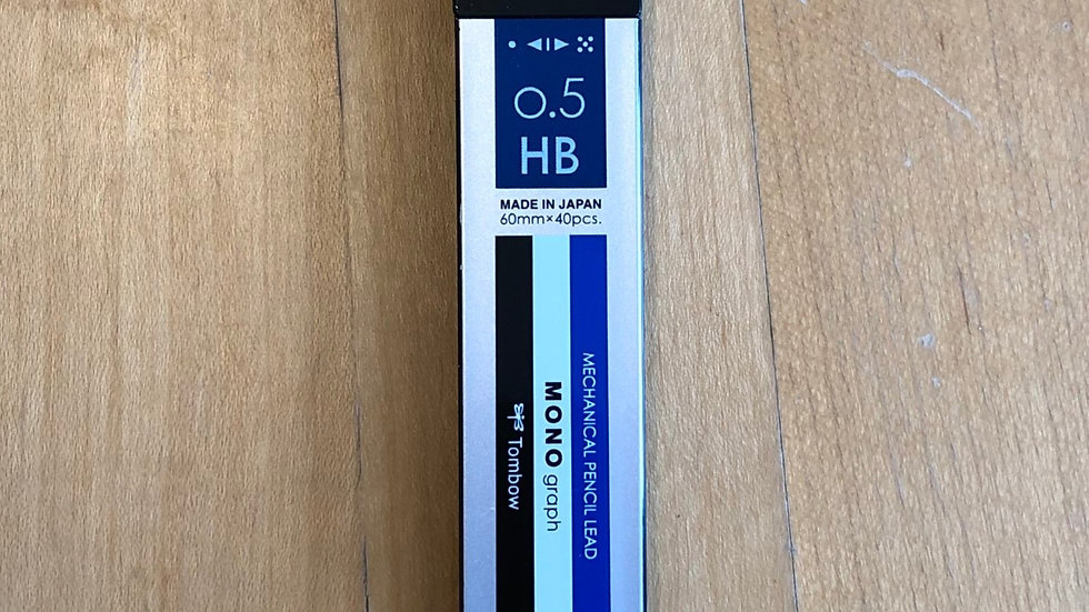 Tombow Mono Graph Lead Refill (0.5mm)