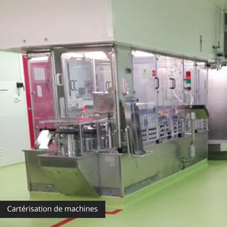 Cartérisation de machines