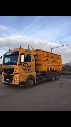 Robers-Umwelt Containerwagen